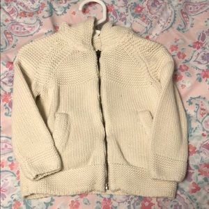 Hooded Cable knit GAP Sweater sz 3T